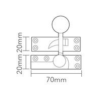QFB Non-Locking Quadrant Fastener