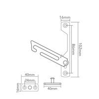 Non-Locking Window Restrictor