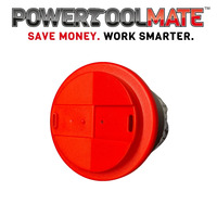 Limited Edition Black & Red Powertoolmate 'Americano Style' Branded Travel Cup