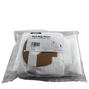 Mirka 899900211 Dust Extraction Vacuum Fleece Dust Bags for 1025L Dust Extractor (5 Pack)