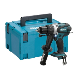 Makita DHP458Z 18V LXT Combi Drill with MakPac Type 3 Case (Body Only)
