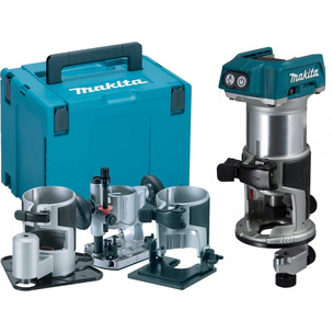 Makita DRT50ZJX3 18V LXT Brushless Router/Trimmer with Extra Bases (Body Only)