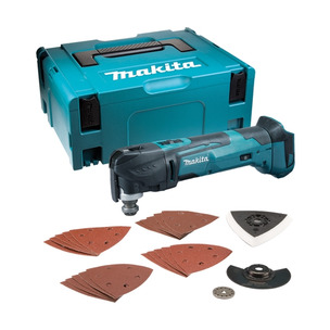 Makita DTM51ZJX7 18V LXT Keyless Blade Change Multi-Tool with Case and Accessories (Body Only)