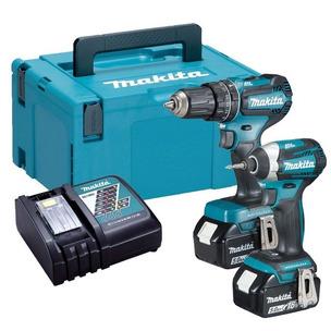 Makita 18v DLX2283TJ Brushless Kit - DHP485 Hammer Drill + DTD153 Impact Driver