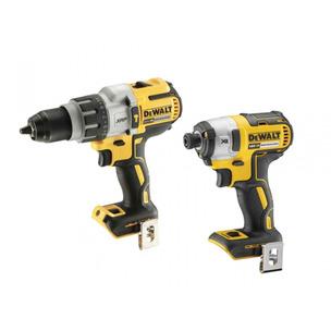 DeWalt DCD996N 18V XR Brushless Combi Drill & DCF887N 18V XR Brushless Impact Driver (Bare Units)