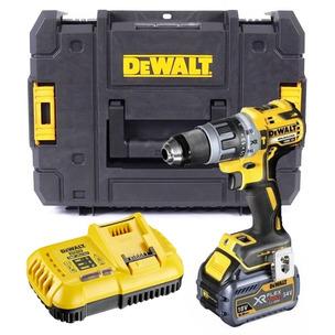 DeWalt DCD796T1 18V XR Brushless Combi Drill Kit (1 x 6.0Ah Li-Ion Battery)