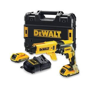 DeWalt DCF620D2 18V XR Brushless Drywall Screwdriver Kit (2 x 2.0Ah Li-Ion Batteries, Charger & Case)