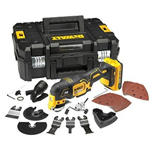 DeWalt DCS355D1 18V XR Brushless Multi-Tool with 35pc Accessory Kit (1 x 2.0Ah Battery and Case)