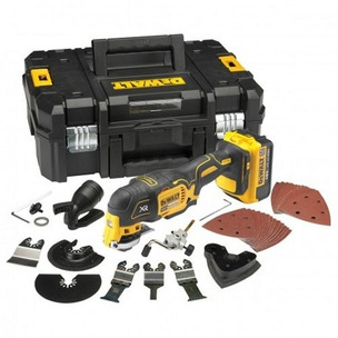 DeWalt DCS355M1 18V XR Brushless Multi-Tool with 35pc Accessory Kit (1 x 4.0Ah Battery and Case)
