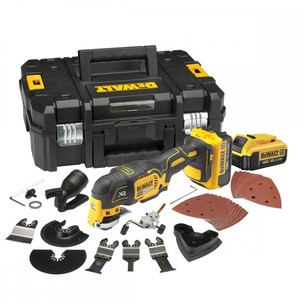 DeWalt DCS355M2 18V XR Brushless Multi-Tool with 35pc Accessory Kit (2 x 4.0Ah Batteries and Case)