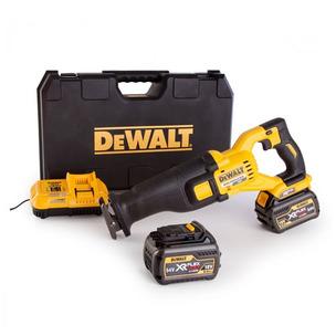 DeWalt DCS388T2 18V/54V Flexvolt Reciprocating Saw Kit (2 x 6.0Ah Li-Ion Batteries, Charger & Case)