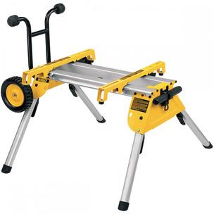DeWalt DE7400 Heavy Duty Rolling Table Saw Workstation