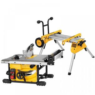 DeWalt DWE7485 & DE7400 210mm Table Saw With Stand Set - 240V