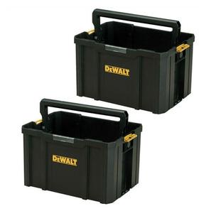 Dewalt DWST1-71228 TSTAK Open Tote Tool Box Carrier - Twin Pack