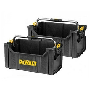 Dewalt DWST1-75654 DS350 Toughsystem Open Tote Toolbox - Twin Pack