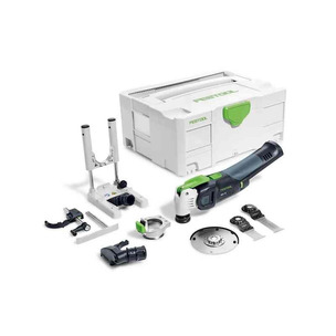 Festool OSC18LiE-BasicSet 18V VECTURO Cordless Oscillator Multi-Tool with Accessories (Body Only)