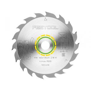 Festool 500458 Standard Saw Blade for HKC55 (160mm x 1.8 x 20mm)