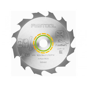 Festool 500460 Panther Saw Blade for HKC55 (160 x 1.8 x 20mm)