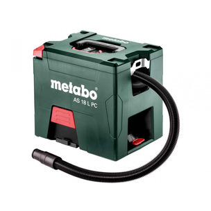 Metabo AS 18 L PC 18v Li-ion L-Class Vacuum Cleaner Body Only