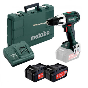 Metabo SB18LT 18V Compact Impact Driver with 2 x 4.0Ah Batteries