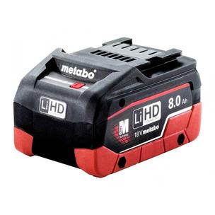 Metabo 625369000 18V LiHD 8.0Ah Slide In Battery
