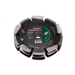 Metabo Dia-CD3 125mm 3R Professional UP Universal Wall Chaser Blade for MFE40