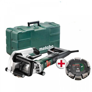 Metabo MFE40 125mm Wall Chaser (with Dia-CD3 125mm 3R UP Universal Blade) - 240V