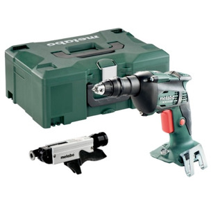 Metabo SE18LTX4000 18V Drywall Screwdriver with SM5-55 Magazine & Carry Case