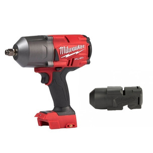 """Milwaukee M18FHIWF12-0 18V Fuel GEN2 1/2"""" Impact Wrench (Body Only) & 49162767 Rubber Boot Sleeve"""