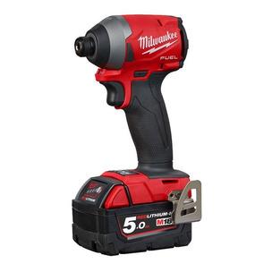 "Milwaukee M18FID2-502X 18V Fuel 1/4"" Impact Driver Kit (2 x 5.0Ah RedLithium-Ion Batteries)"