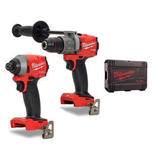 Milwaukee M18FPD2-0 & M18FID2-0 Twin Kit in Case (Bare Units)