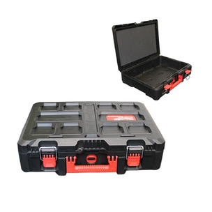 Milwaukee PACKCASE Small PACKOUT Case (Suitable for Impact Driver/Combi Drill etc) - No Inlay