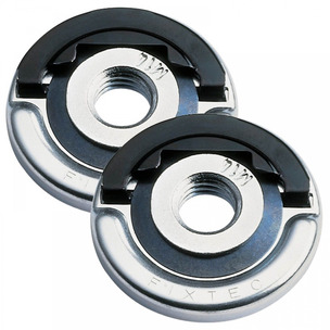 Milwaukee 4932352473 Fixtec Quick Locking Flange Nut - TWIN PACK