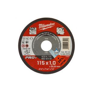 Milwaukee 4932451484 SCS 41 PRO+ Thin Metal Cutting Disc (115mm x 1mm)