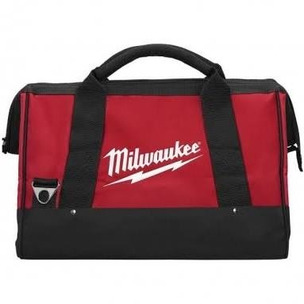 """Milwaukee M12 12"""" Canvas Contractors Heavy Duty Carry Tool Bag"""