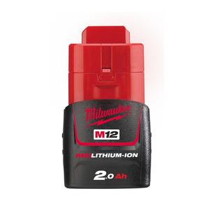 Milwaukee M12B2 12V 2.0Ah RedLithium-Ion Battery