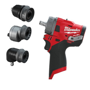 Milwaukee M12FPDXKIT-0 'FUEL GEN II' 12V Percussion Drill With Removable Chuck