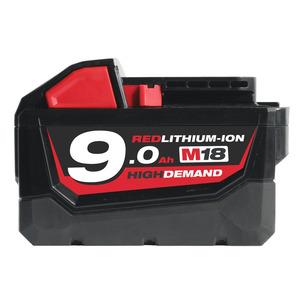 Milwaukee M18B9 18V 9.0Ah RedLithium-Ion High Demand Battery