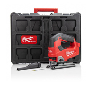 Milwaukee M18FJS-0 18V Fuel Cordless Jigsaw with Packout Case (Body Only)