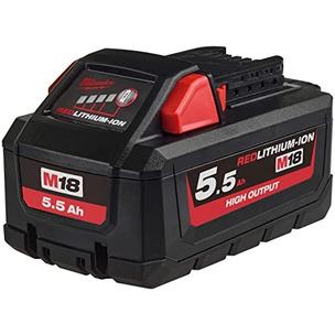 Milwaukee M18HB5 18V 5.5Ah RedLithium-Ion High Output Battery