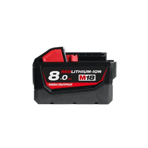 Milwaukee M18HB8 18V 8.0Ah RedLithium-Ion High Output Battery