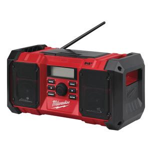 Milwaukee M18JSRDAB+-0 18V/240V DAB Jobsite Radio (Body Only)