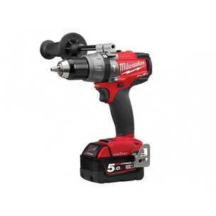 Milwaukee M18ONEPD2-502X 18V Fuel ONE-KEY Combi Drill (2 x 5.0Ah Redlithium-ion Batteries)