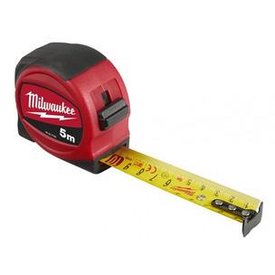 Milwaukee 48227706 5m Slimline Tape Measure - Metric Only (5m x 25mm)
