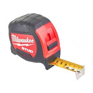 Milwaukee 48229926 7.5m/25ft STUD Tape Measure (Width 27mm)