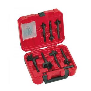 Milwaukee 49220130 7 Piece Selfeed Drill Bit Set (25mm - 65mm)
