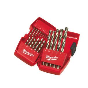 Milwaukee 4932352374 19 Piece Thunderweb HSS-G Metal Drill Bit Set (1mm - 10mm)