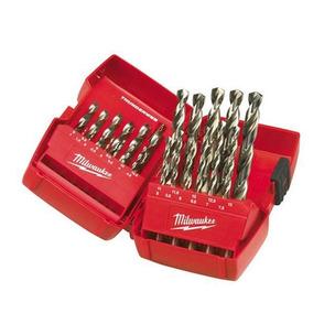 Milwaukee 4932352376 25 Piece Thunderweb HSS-G Metal Drill Bit Set (1mm - 13mm)