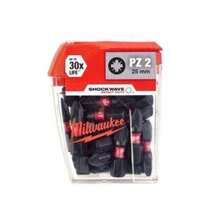 Milwaukee 4932430864 25 Piece PZ2 25mm Screwdriver Bits
