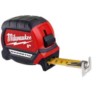 Milwaukee 4932464600 8m Magnetic Tape Measure - Metric